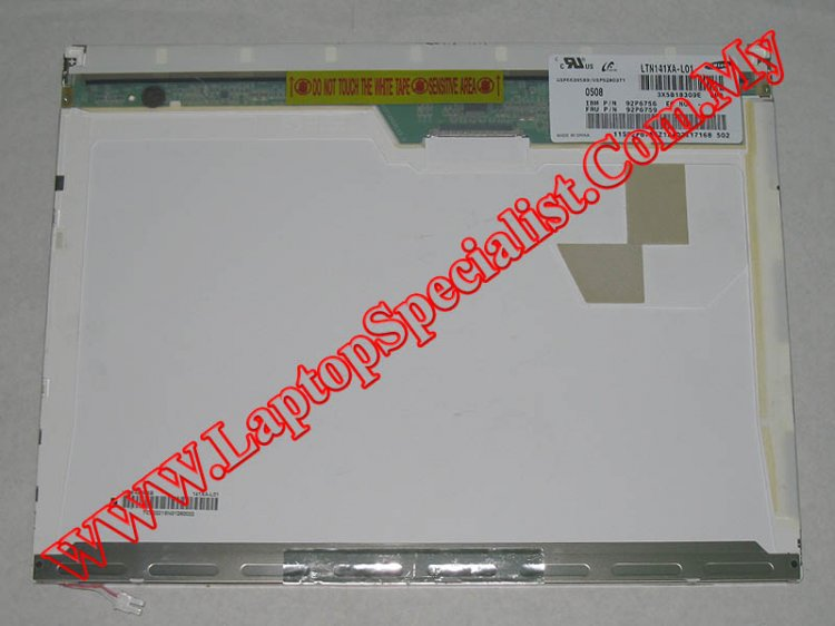 "14.1"" XGA Matte LCD Screen Samsung LTN141XA-L01 (Used) 92P6759 - Click Image to Close"