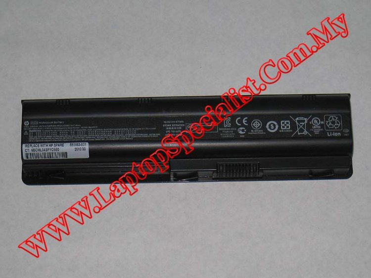 Compaq Presario CQ42 Used Laptop Battery 593553-001 - Click Image to Close