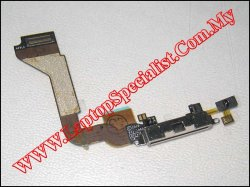 Doc Connector Flex Cable - White for iPhone 4