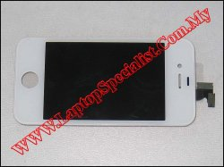 Apple Iphone 4s LCD & Digitizer Screen (White)