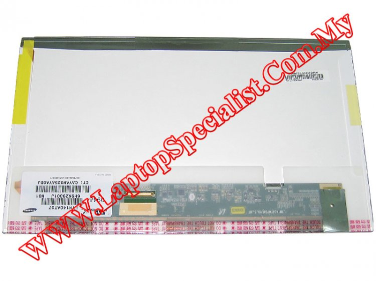"14.0"" HD Glossy LED Screen Samsung LTN140AT07 (New) - Click Image to Close"