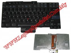 IBM Thinkpad R32 Used US Keyboard FRU 08K4506
