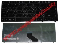Acer Aspire 4736 Black Glossy New Arabic Keyboard KBI140A061