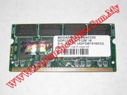 512MB 333MHz A-Data MDOAD4F3H444041C02 Ram PC2700