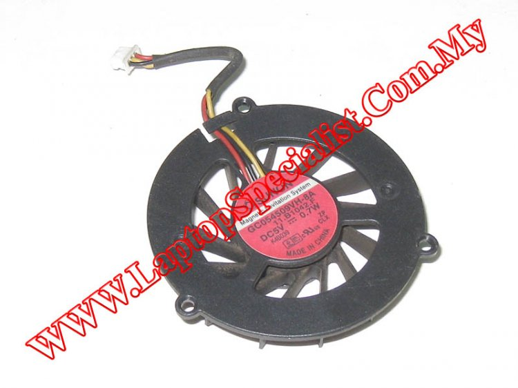 Acer TravelMate 4050 CPU Cooling Fan GC054509VH-8A - Click Image to Close