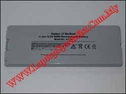 Apple A1185 New Replacement Battery (White)