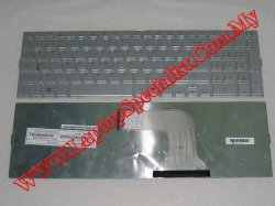 Acer Aspire 5943 New US Silver Keyboard KBI170A2001