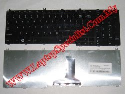Toshiba Satellite L655 New Black Glossy US Keyboard NSK-TN001