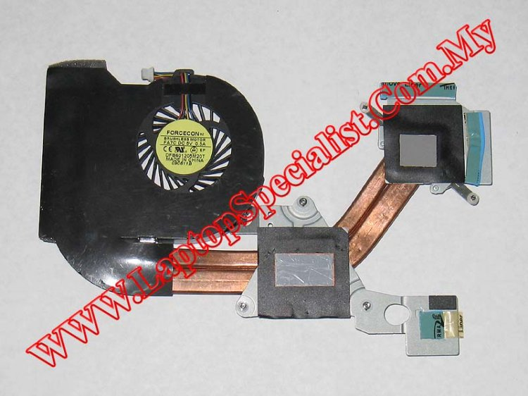 Acer Aspire 4750G / 4755G Heat Sink with Fan 60.4IQ17.003 - Click Image to Close
