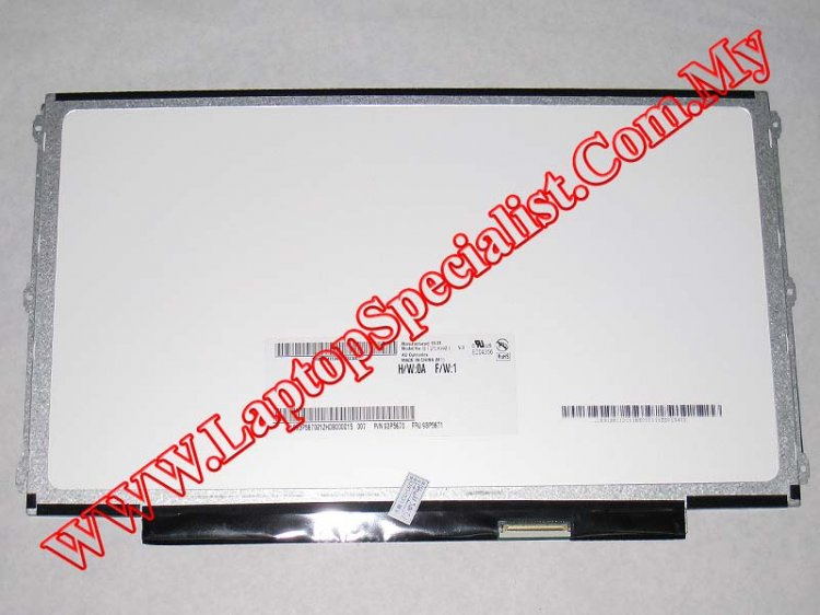 "12.5"" HD Matte LED Slim Screen AUO B125XW01 V.0 (New) - Click Image to Close"