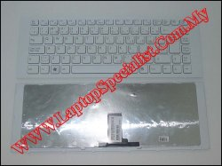 Sony Vaio VPC-EG New EF White Keyboard (With Frame)148970441