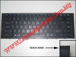 Sony Vaio VPC-EA Series Black US Keyboard 148792241 (crack)