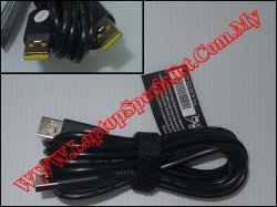 Lenovo USB Power Cord Cable 5L60J33144
