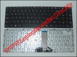 Lenovo Ideapad 300-15 New US Keyboard (Long)