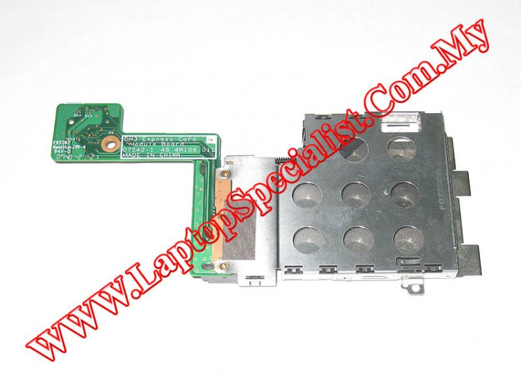Dell XPS M1530 DH3 Express Card Module Board 48.4W108.011 - Click Image to Close