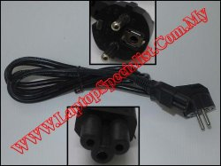Power Cord (Europe/Africa) 3 Pin