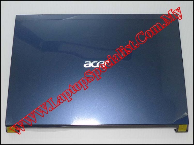 Acer Aspire 4830T LCD Rear Case (Blue) - Click Image to Close