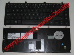 HP Probook 4320s New US Keyboard with frame 605052-A81