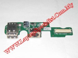 Dell Latitude D505 I/O Board DA0DM1PI8D3