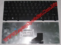 Acer Aspire One 532 New UK Black Keyboard KBI100G085