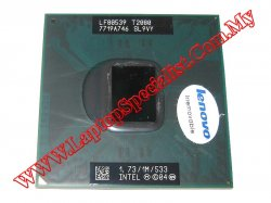 Intel® Core™ Duo Processor T2080 1.73 GHz 533 MHz 1MB