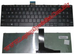 Toshiba Satellite C850 New Black US Keyboard