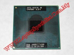 Intel® Core™2 Duo Processor T6500 SLGF4 2.1GHz 800MHz 2MB