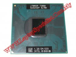 Intel® Core™ Duo Processor T2050 1.6 GHz 533 MHz 2MB