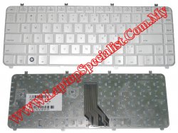 HP Pavilion dv5 White New US Keyboard