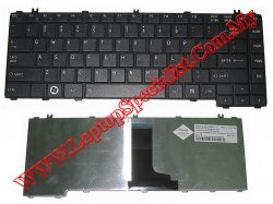 Toshiba Satellite C600D/C640/L640 New Black US Keyboard
