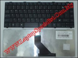 Fujitsu Lifebook LH530 New US Keyboard (Cartoon)