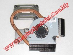 HP Pavilion dv3-4000 Heat Sink with Fan 608010-001