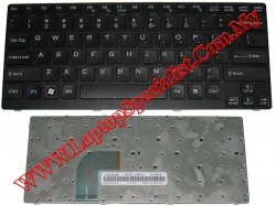 Sony Vaio VGN-CR Series Black New US Keyboard 148023822