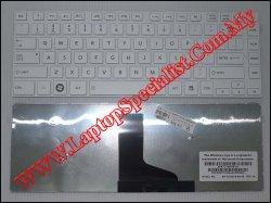 Toshiba Satellite L40-A New White US Keyboard