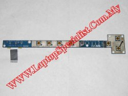 Lenovo 3000 Y400 On/Off Switch Board HGT30 LS-3066P