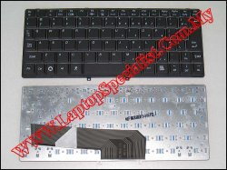 Lenovo Ideapad S10 Black New US Keyboard