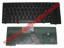 Acer Aspire 4730 Used US Black Keyboard KBINT00442