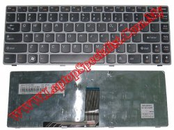 Lenovo Ideapad Z470 New Gray US Keyboard 25011802