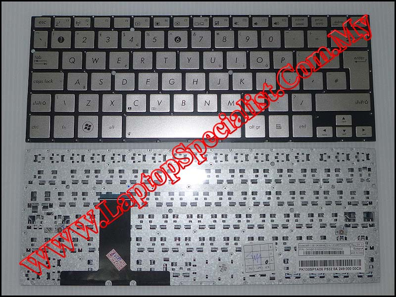 Asus UX31 US Keyboard 0KN0-MY1US13 - Click Image to Close